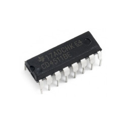 4511 BCD to 7 Segments