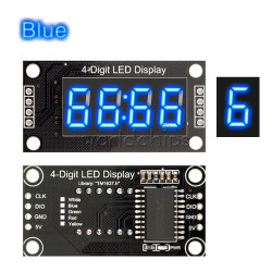 TM1637 LED display 0.56'' blue