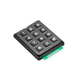 Plastic Numerical Keypad 3x4