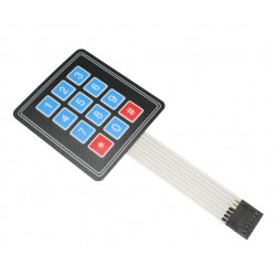 Membrane Numeric Keypad
